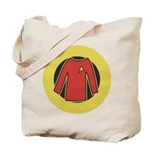 Star Trek Red Shirt Tote Bag