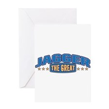 The Great Jagger Greeting Card
