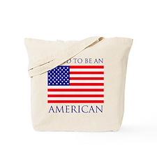 Proud American Tote Bag