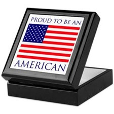 Proud American Keepsake Box