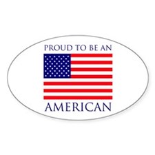 Proud American Decal