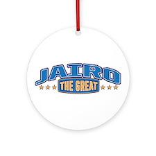 The Great Jairo Ornament (Round)