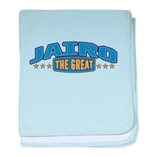 The Great Jairo baby blanket