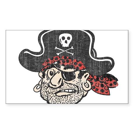 Throwback Pirate Sticker
