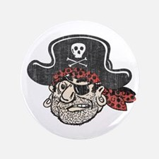 "Throwback Pirate 3.5"" Button"