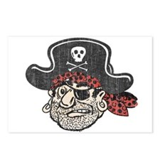 Throwback Pirate Postcards (Package of 8)