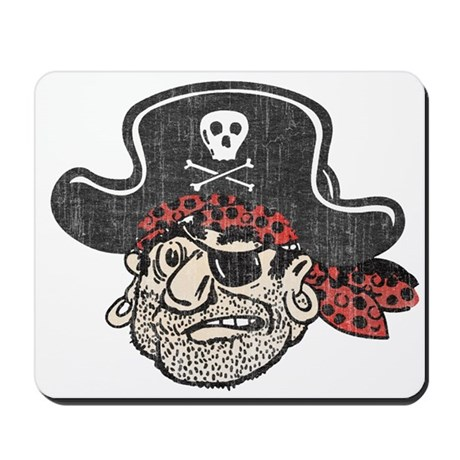 Throwback Pirate Mousepad