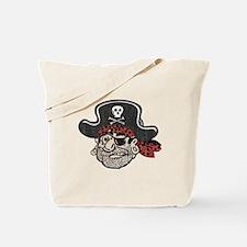Throwback Pirate Tote Bag