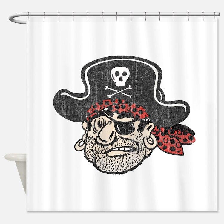 Pirate bathroom accessories