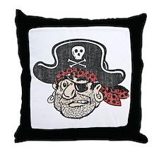 Throwback Pirate Throw Pillow