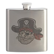 Throwback Pirate Flask