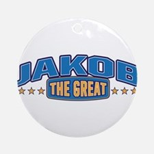 The Great Jakob Ornament (Round)