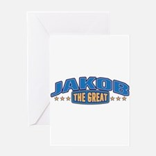 The Great Jakob Greeting Card