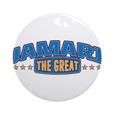 The Great Jamari Ornament (Round)