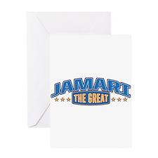 The Great Jamari Greeting Card