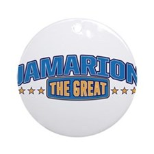 The Great Jamarion Ornament (Round)