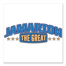"The Great Jamarion Square Car Magnet 3"" x 3"""