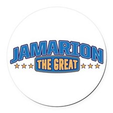 The Great Jamarion Round Car Magnet