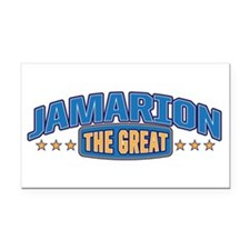 The Great Jamarion Rectangle Car Magnet