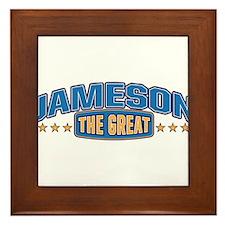 The Great Jameson Framed Tile