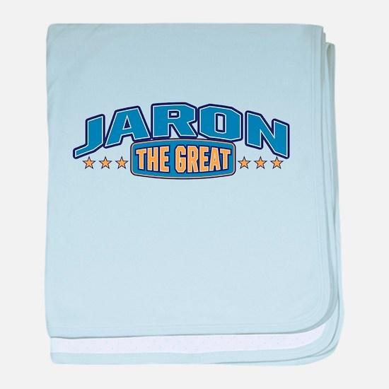 The Great Jaron baby blanket