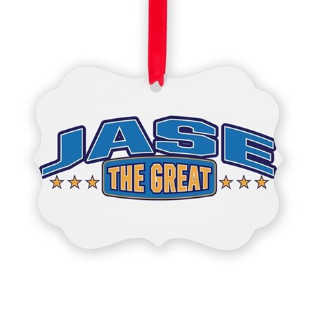 The Great Jase Ornament