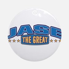 The Great Jase Ornament (Round)