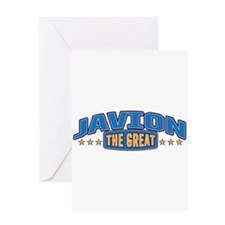 The Great Javion Greeting Card