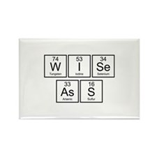 Wise Ass Rectangle Magnet