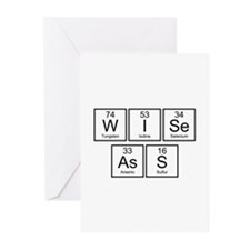 Wise Ass Greeting Cards (Pk of 10)