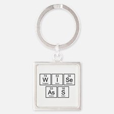 Wise Ass Square Keychain