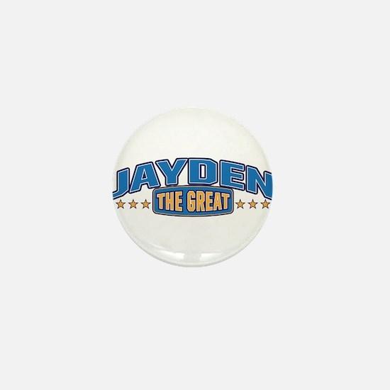 The Great Jayden Mini Button