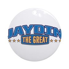 The Great Jaydin Ornament (Round)