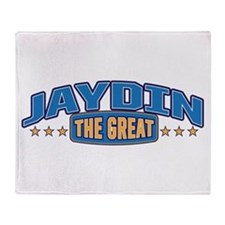 The Great Jaydin Throw Blanket