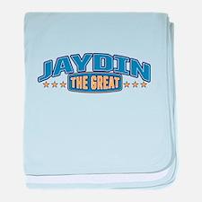 The Great Jaydin baby blanket