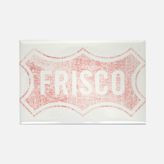 Faded Frisco Rectangle Magnet