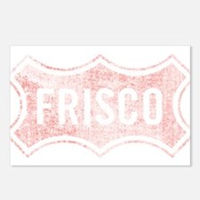 Faded Frisco Postcards (Package of 8)