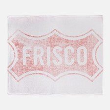 Faded Frisco Throw Blanket