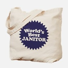 Worlds Best Janitor Tote Bag