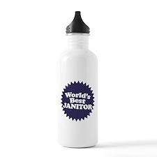 Worlds Best Janitor Water Bottle