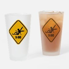 Fairy Crossing Drinking Glass