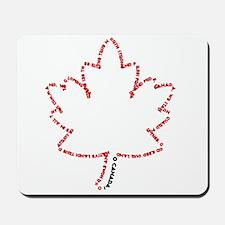 O Canada Day Mousepad