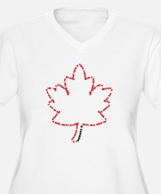 O Canada Day Plus Size T-Shirt