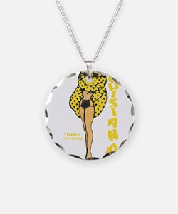 Vintage Louisiana Pinup Necklace