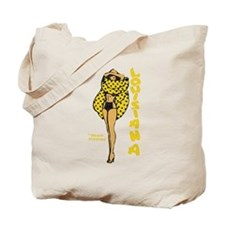 Vintage Louisiana Pinup Tote Bag