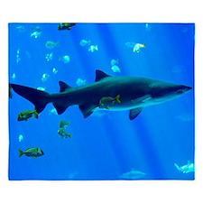 Black Tipped Shark King Duvet