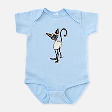Siamese Cat Crosswalk Body Suit