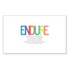 ENDURE Decal