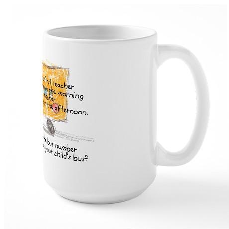 First and Last Teacher Large Mug