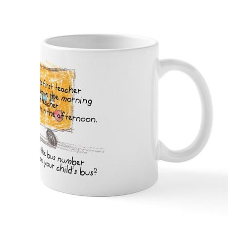 First and Last Teacher Mug